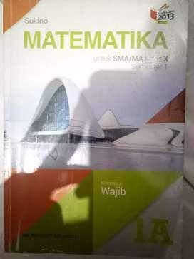 Buku matematika sukino