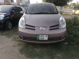 Nissan note 2007 model import 2012..