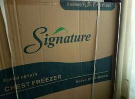 Deep Freezer Single Door , brand Signature,  untouched and Packed