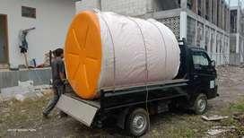 Tandon air 3300 liter tebal bahan plastik pvc sentolo