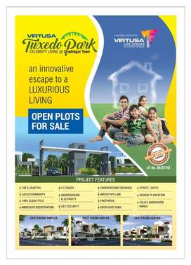 1800 sqft DTCP Approved layout at shadnagar for sale in tuxedo park