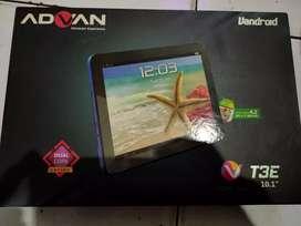 "Tab Advan series ""T3E"" ukuran 10.1 inch RAM 512"