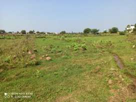Land for rent beside highway at santhebennur