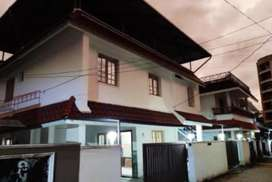 3bhk semi furnished villa for rent near seaport airport road, kakkanad