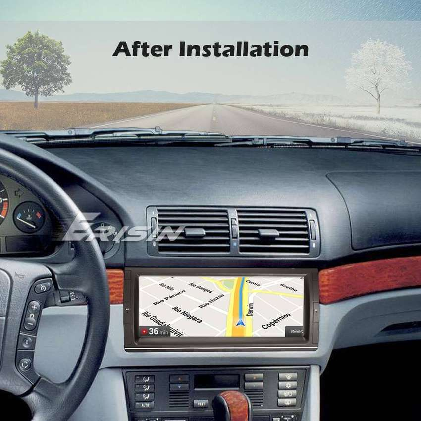 """8725 Android 10.0 Car Stereo Audio 10.25"""" for BMW 5 Series E39 X5 E53 0"""