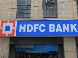 Urgent requirement HDFC Bank for male and female candidate required