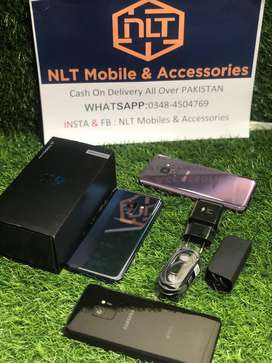 Samsung S9 Single Dot Box and All Accessories PTA Approved