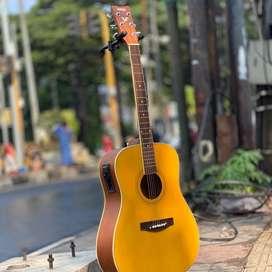 Gitar Akustik elektrik yamaha F310