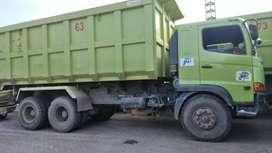 Dumtruk Hino 6x4 FM260TI 2018 index 24 dumptruck orisinil siap kerja