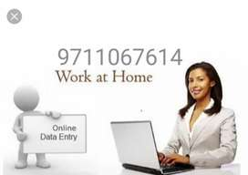Part time/Full time jobs in India. Home based data entry works