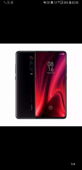 Redmi k20 pro(6_128)Gb color Ruby red and black also