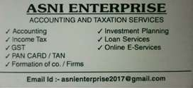 Online E-Services, Taxation & Account Services at a reasonable price