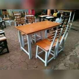 Sedia Meja kursi cafe/warung makan