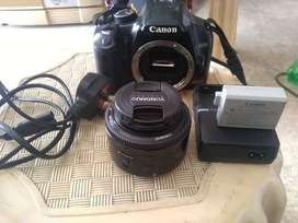 Canon 450D made in japan with 50mm lens