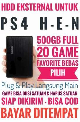 HDD 500GB FULL 20 Game Terlaris PS4 Harga Terjangkau Murah Bebas Pilih