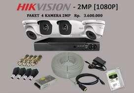 Pemasangan kamera Cctv 2Mp full hd//Cibubur