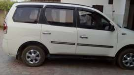 White Colour Xylo D4, 7 Seater 2013 model