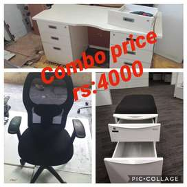 Office tables and chairs available
