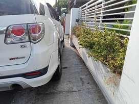 Fortuner TRD 2013 diesel matic istimewa orisinil di Jogja