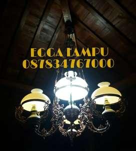 Produksi Lampu Gantung Antik Klasik Ovj