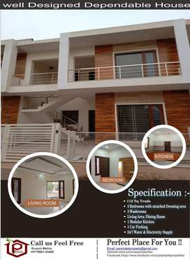 112 sq yards double storied house for sale in sunny enclave sector-125