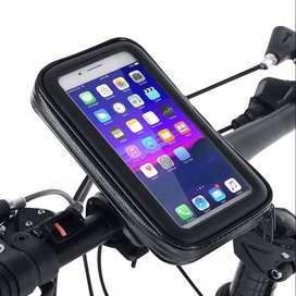 Motorcycle Phone Holder Waterproof Case Bike Phone Bag for 5.5 Inch