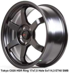 Velg Ring 17 Buat Inova HSR TOKYO warna Hitam