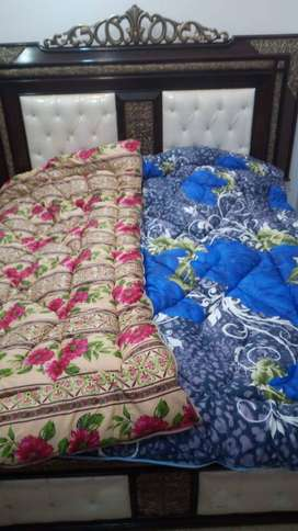 Printed Polyester Single/Double Wedding/Household usage Quilts