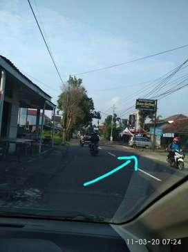 Tanah Dijual Lokasi Strategis Pinggir Jalan Palagan Km 9
