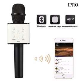 Q7 Karaoke Microphone Player Wireless Bluetooth Mic