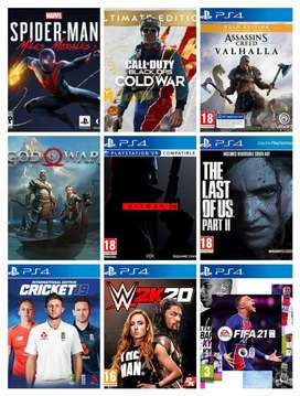 All Original Ps4 Games Available at the Lowest price