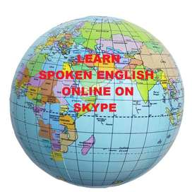 LEARN SPOKEN ENGLISH ONLINE ON SKYPE