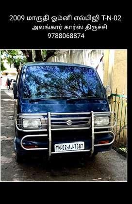 Maruti Suzuki Omni 8 STR BS-III, 2009, LPG