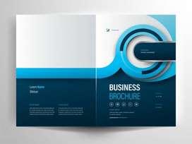 Jasa Desain Brosur logo compro Banner Packaging Undangan Dll   716430