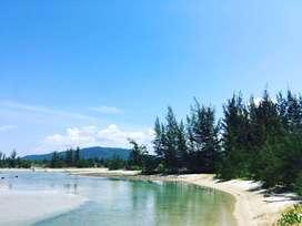 Tanah dekat Pantai cocok untuk wisata seperti hotel resort di Belitung