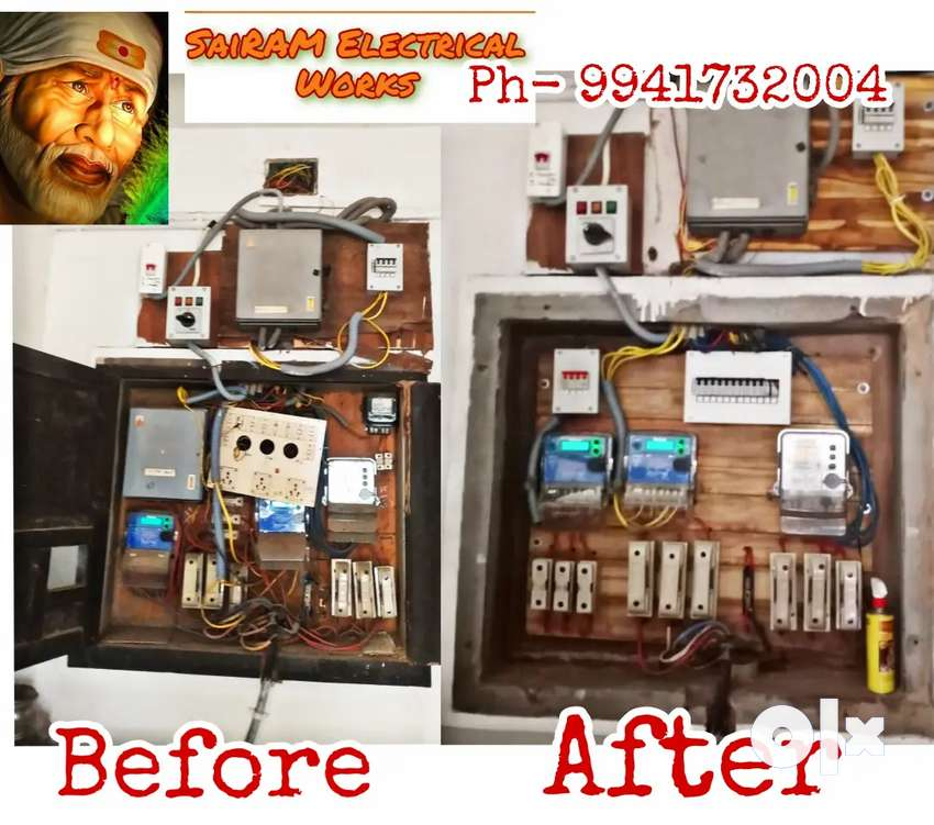All types of Electrician Works