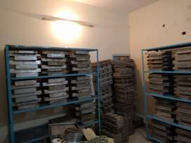 Sweets and Bakers factory And 3 branches complete setup for sale