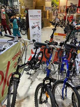 Sepeda Gunung bisa kredit, dp mulai 10%