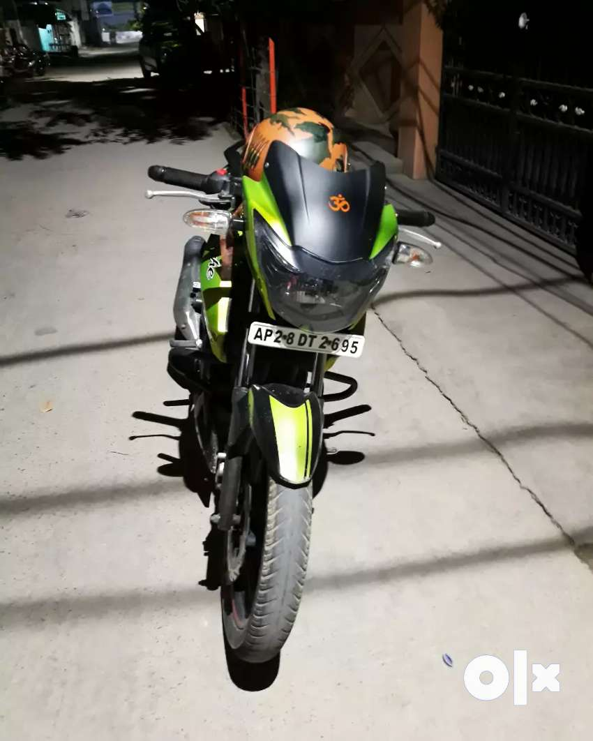 RTR 160 Dual Disc (Green-Black) limited edition with K&N racing filter 0