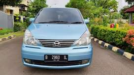 Nissan Serena HWS 2005 AT blue istimewa