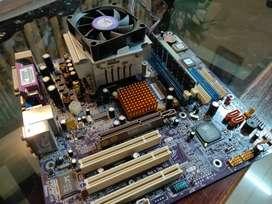 Intel Pentium 4 Processor + Motherboard + RAM + PSU