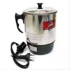 Fengcheng High Quality Electric Kettle - Silver & Black 13 Cm