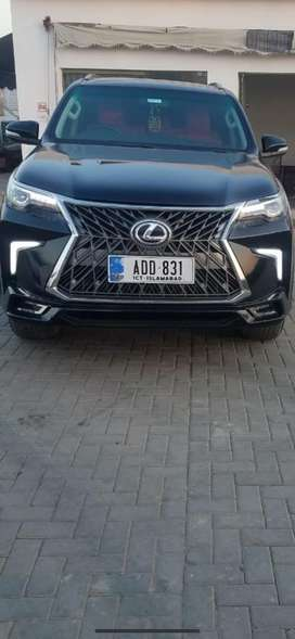 Fortuner grill lx570