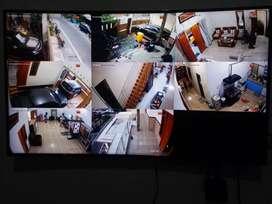 Cctv paket 4 camera Full HD 1080p