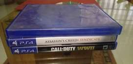 Ps4 games: Acc syndicate, COD WW2 and fifa 15d Fifa 15