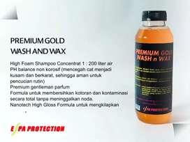 Titanium gold class shampoo