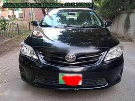 Toyota Corolla Xli get on easy monthly installments.
