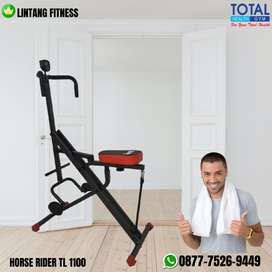 Alat fitness olahraga di rumah Horse rider TL1100 Total Gym Fitnes
