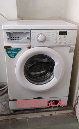 Lg fully automatic front loaded washing machine
