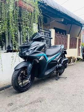 Yamaha All New Aerox 155cc VVA_Fi Conect Tahun 2021 Mulus Km 5rb